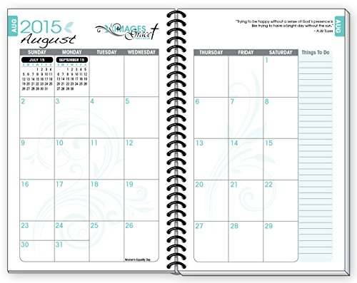 2015-16 TEAL FISH INSPIRATIONAL Christian Daily Planner August ...